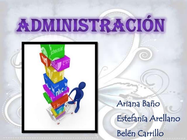 Proceso  Administrativo y sus Elementos