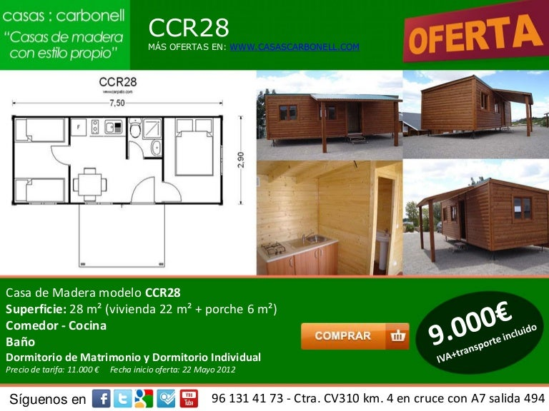 Casa De Madera Prefabricadas Y Economicas Valencia Castellon Y Alica