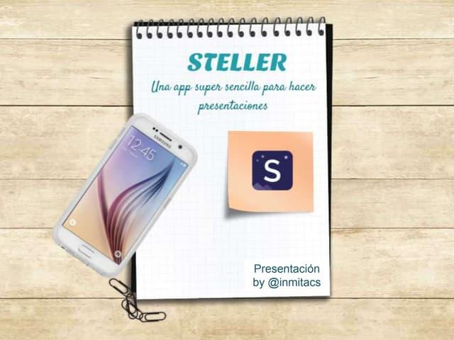 Cómo usar la app Steller