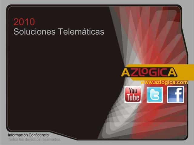 Presentación AZ LOGICA Control Meteorologico Automático