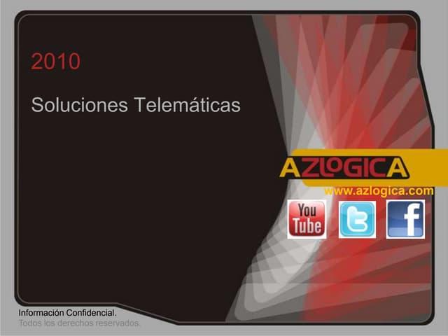 Presentación AZ LOGICA SISTEMA TELEMATICO METEOROLOGIA