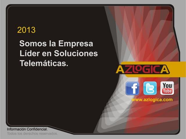 Presentación  Corporativa AZLOGICA 2013