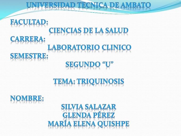 triquinosis slideshare