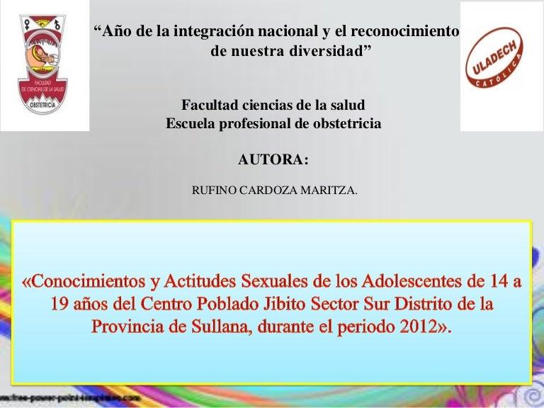 presentación de ppt de tesis