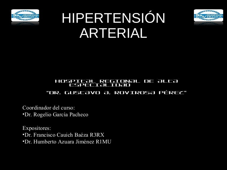 Jn7 hipertensión arterial forma de onda