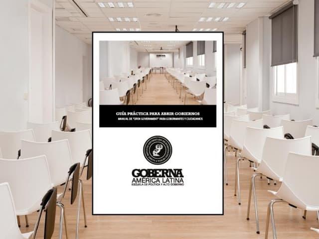 Presentación Libro Guía para Abrir Gobiernos (San Salvador)