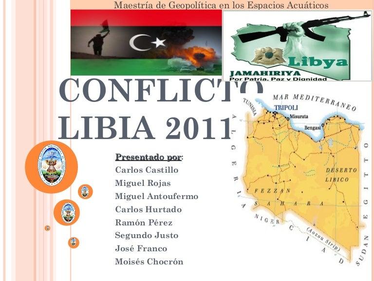 Conflicto Libia 2011