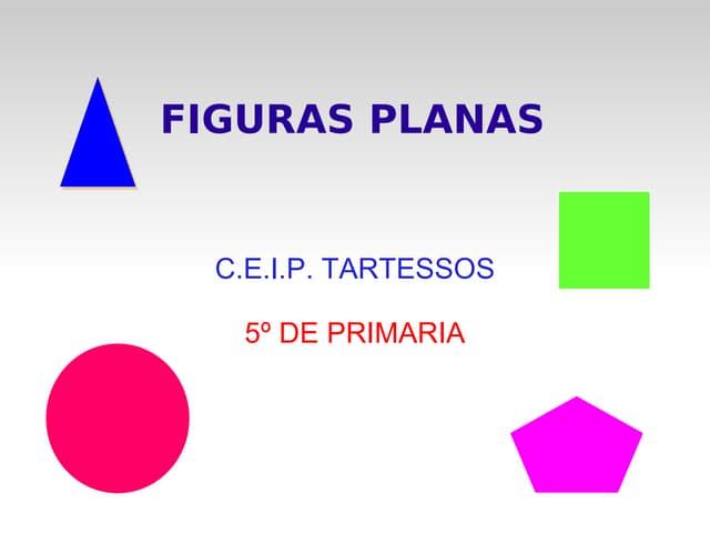 PresentacióN Tema 10 Figuras Planas