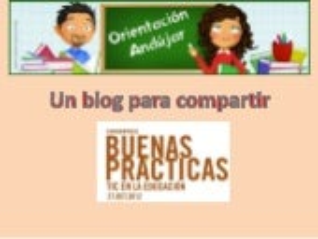 Presentacion blog orientacion andujar bbpp cita 2012
