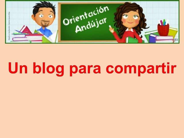 Presentacion blog orientacion andujar cita