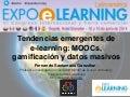 Tendencias emergentes de  e-learning: MOOCs, gamificación y datos masivos