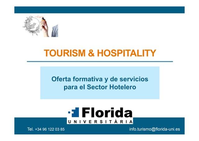 Presentación Florida Tourism Hospitality