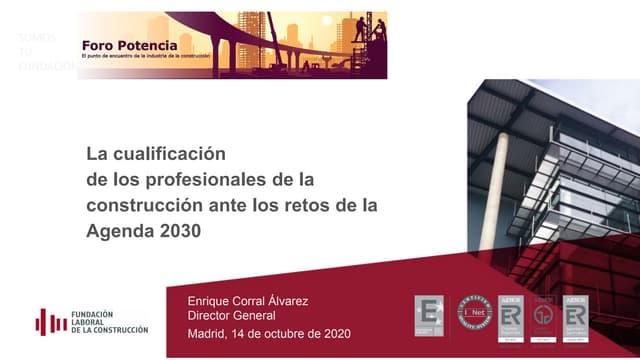 Presentacion Foro Potencia Enrique Corral 14oct2020