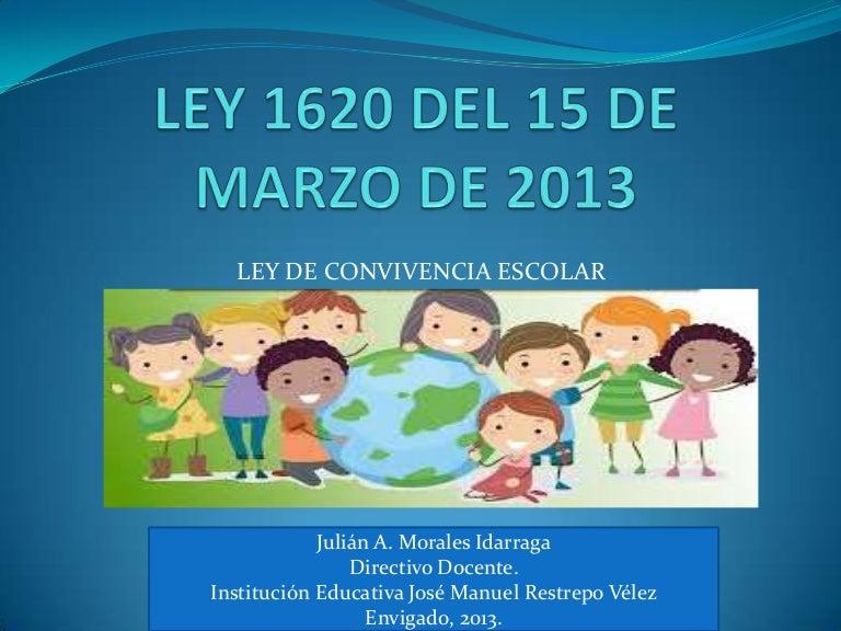 Presentacion ley 1620 ppt