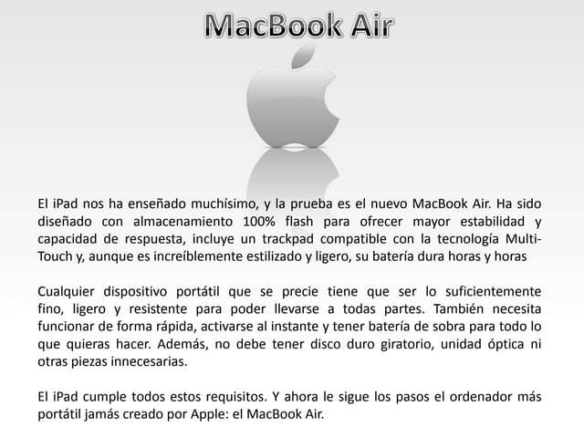 Presentacion MacBook