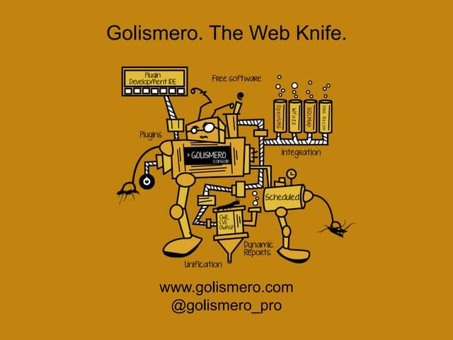 GoLismero: The Web Knife
