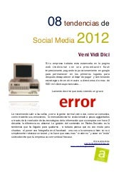 8 tendencias de social media 2012 español pdf