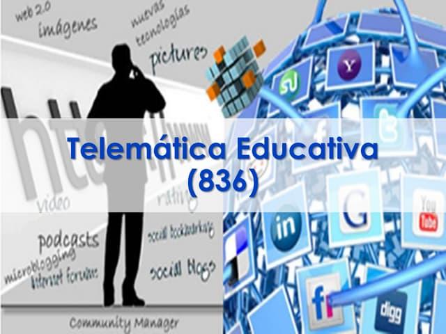 Presentacion telemática educativa