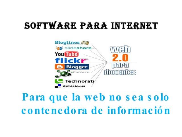 Presentacion web2.0