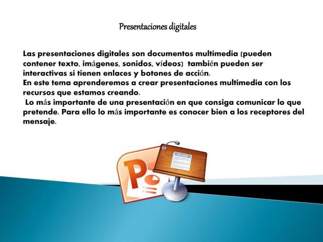Presentaiones digitales
