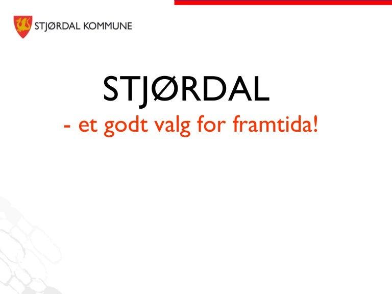 Presentasjon Av Stjordal Kommune