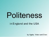 Politeness (try out version)