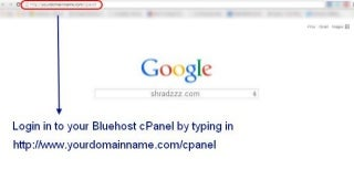 Bluehost cPanel gives one click installation of WordPress