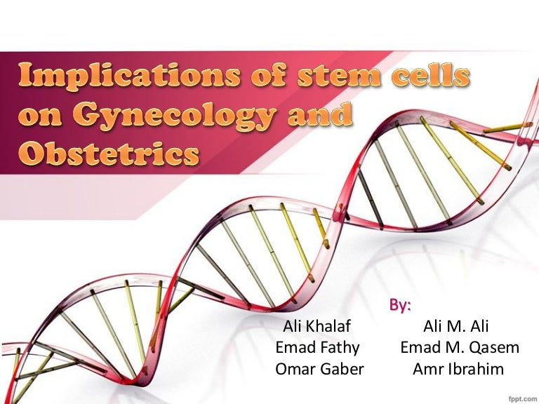Implications of stem cells in gynecology and obstetrics toneelgroepblik Gallery