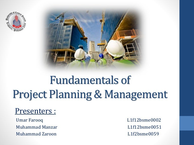 Project Planning  Management