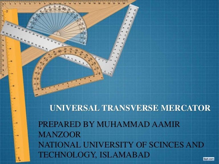 utm universal transverse mercator, Presentation templates