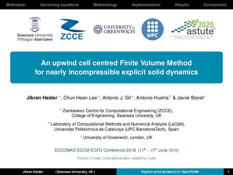 An upwind cell centred Finite Volume Method for nearly