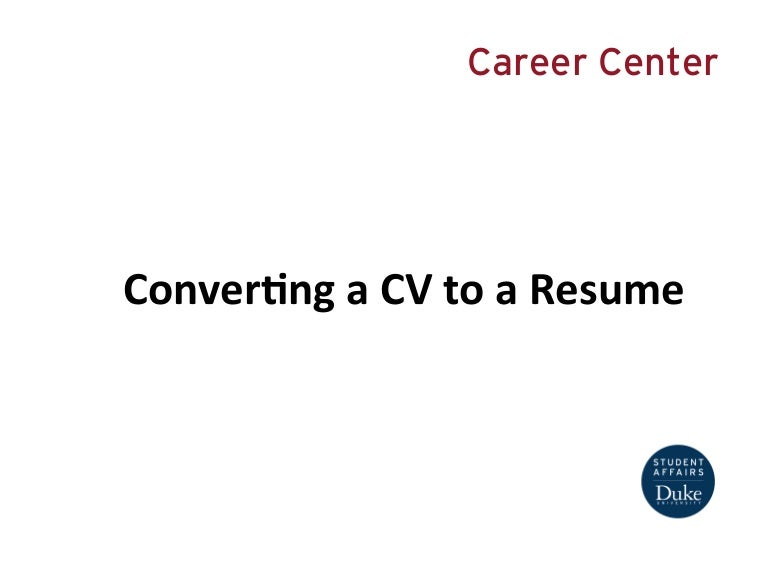 presentation convertingacvtoaresumeforgraduatestudents 130925161136 phpapp01 thumbnail 4jpgcb1416391148