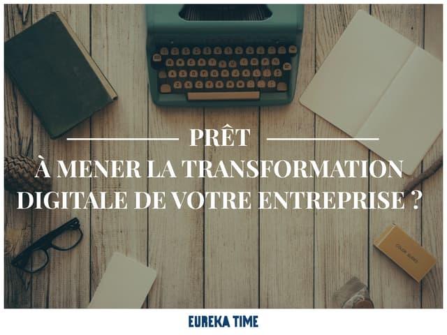 Presentation Eureka Time Agence Transformation Digitale, Paris