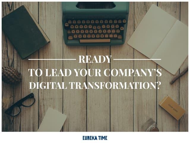 Presentation Eureka Time Digital Transformation Agency