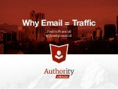 How to Make Email a Traffic Source