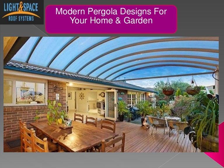 Modern Pergola Designs