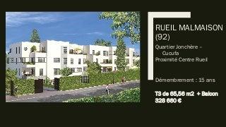 Appartements nue propriété ancien (occasion, revente, durée réduite)