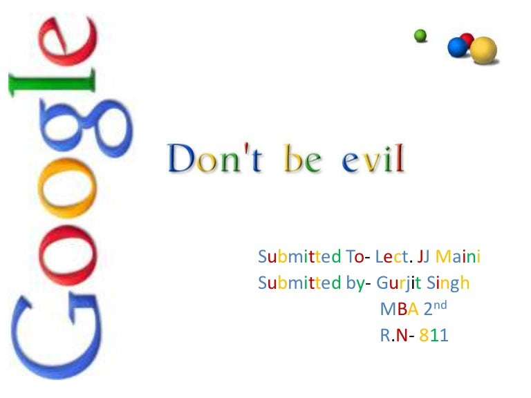 presentation on google