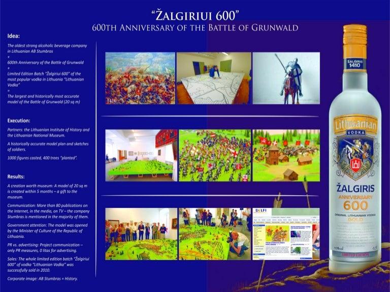 "Corporate Communication / Project ""Žalgiriui 600"" (600th"