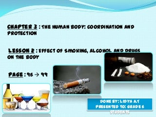 effects of smoking, alcohol, and drugs on the body