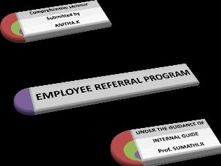 Employee referral program ppt