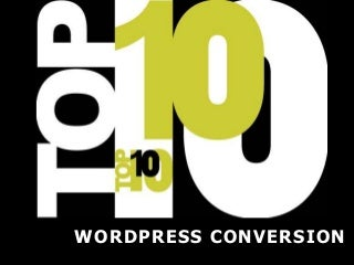 Top 10 PSD/HTML to WordPress Service Providers