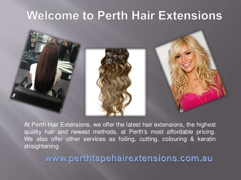 Perth Tape Hair Extensions