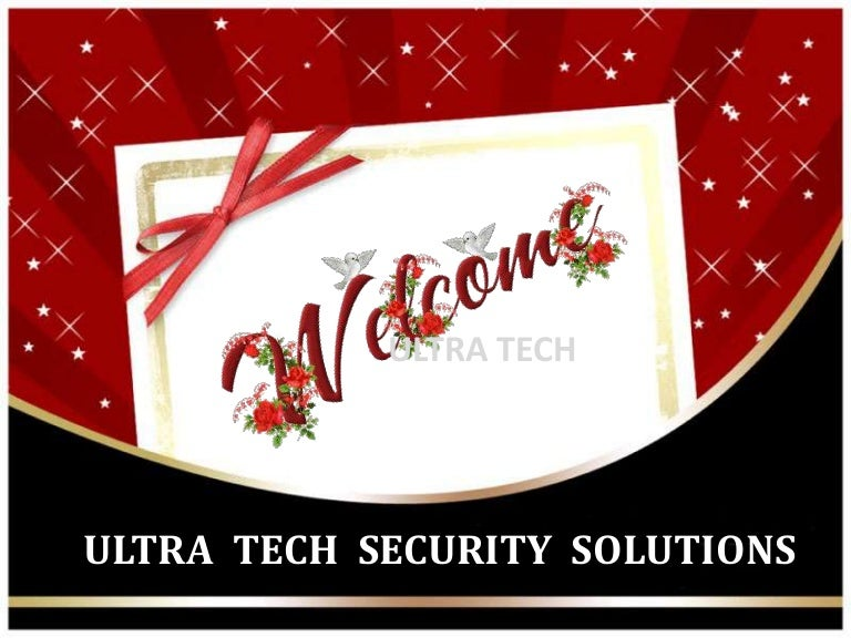 security systemsultra- tech security solutions, coimbatore, Presentation templates