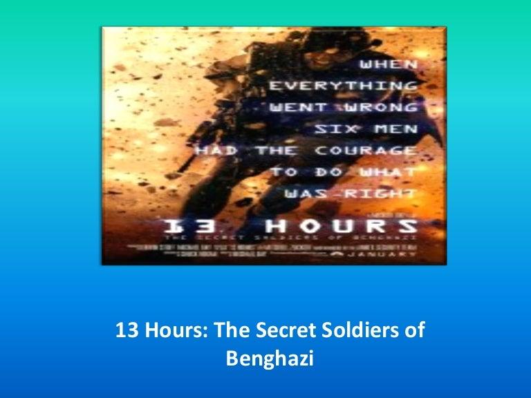 13 Hours Online Stream