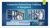 Computer Networking Training in Bangalore, CCNA, CCNP @18000