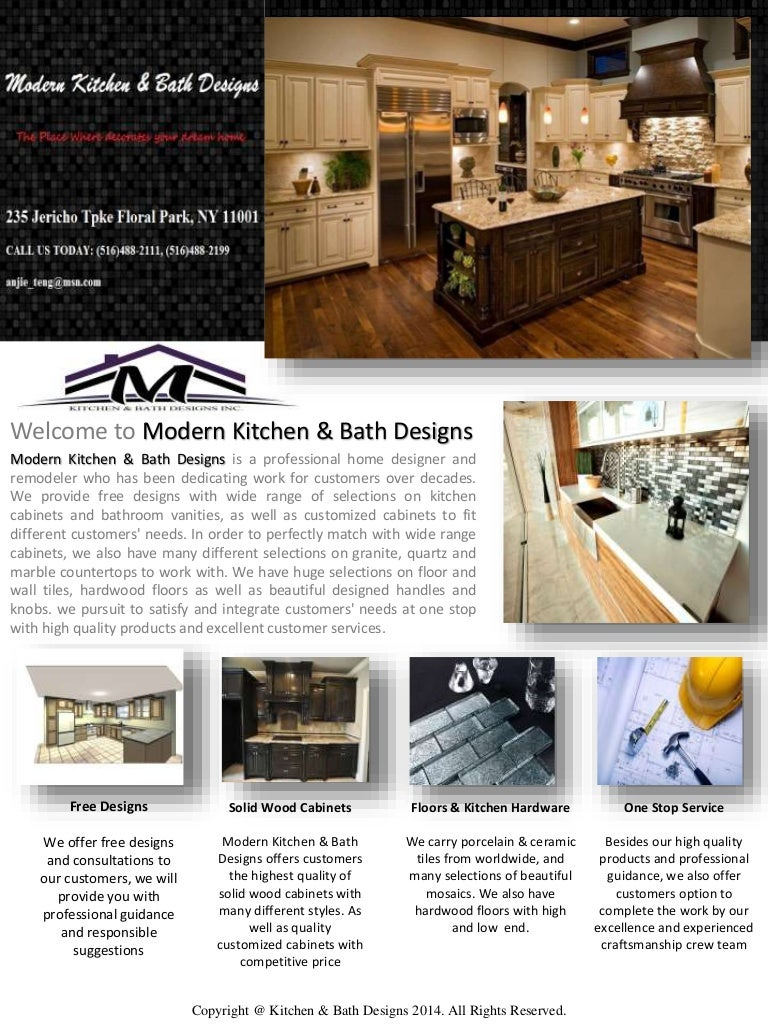 Modern Kitchen Bath Designs