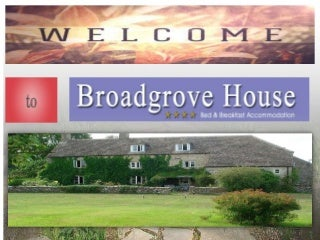 Bed And Breakfast with Accommodation in Frome - Broad Grove House, UK
