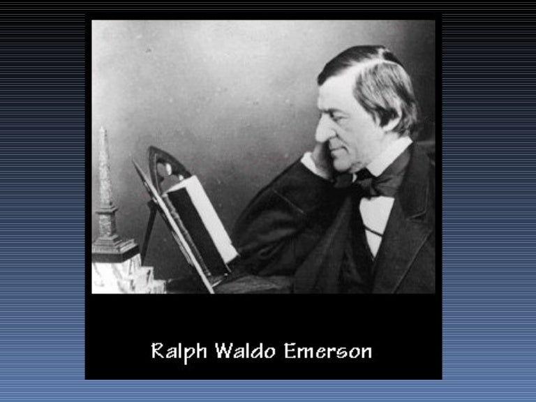 essay on ralph waldo emerson The project gutenberg ebook of essays, second series, by ralph waldo emerson this ebook is for the use of anyone anywhere at no cost and with almost no restrictions whatsoever.