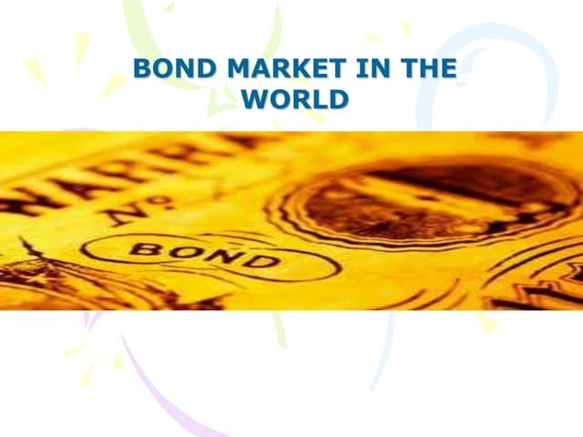 Bond markets